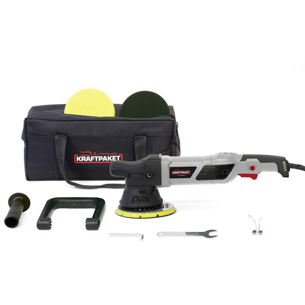 Dino KRAFTPAKET Exzenter 15mm 950 W 640229 Ekscentrični polirni stroj 230 V 950 W 1500 - 4800 U/min 150 mm