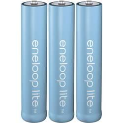 Panasonic eneloop Lite HR03 Micro (AAA)-Akumulator NiMH 550 mAh 1.2 V 3 KOS