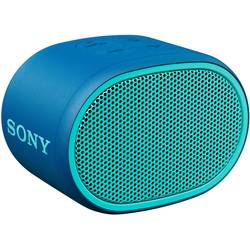 Sony SRS-XB01 Bluetooth® zvočnik AUX, Vodoodporen Modra