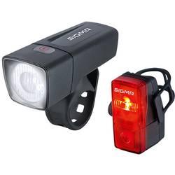 komplet svetil za kolo Sigma AURA 25 FL + CUBIC RL K-SET baterijsko črna
