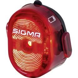 zadnja luč za kolo Sigma NUGGET II akumulatorsko rdeča, črna