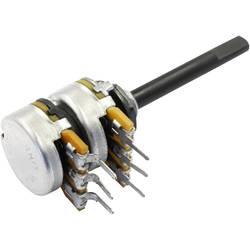 OMEG vrtljivi potenciometer stereo 0.25 W 100 kΩ 1 kos