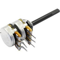 OMEG vrtljivi potenciometer stereo 0.25 W 22 kΩ 1 kos