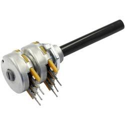 OMEG vrtljivi potenciometer stereo 0.2 W 220 kΩ 1 kos
