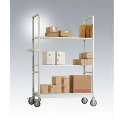 Manuflex AS1401.2001 voziček za kartonsko embalažo jeklo prevlečen s praškom Obremenitev (maks.): 250 kg rdeča, oranžna