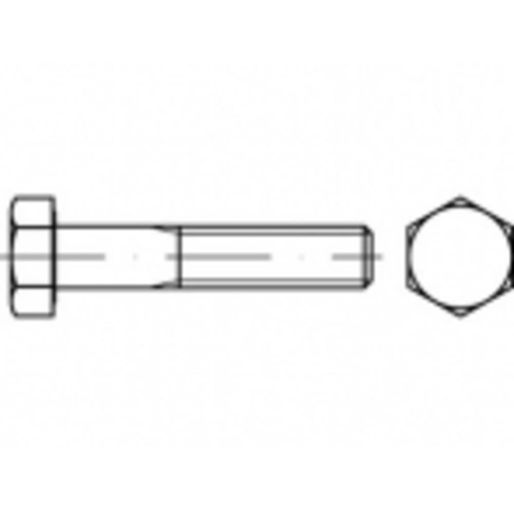 Vijci s šesterokutnom glavom M14 50 mm Vanjski šesterokutni ISO 4014 100 ST TOOLCRAFT TO-5399466