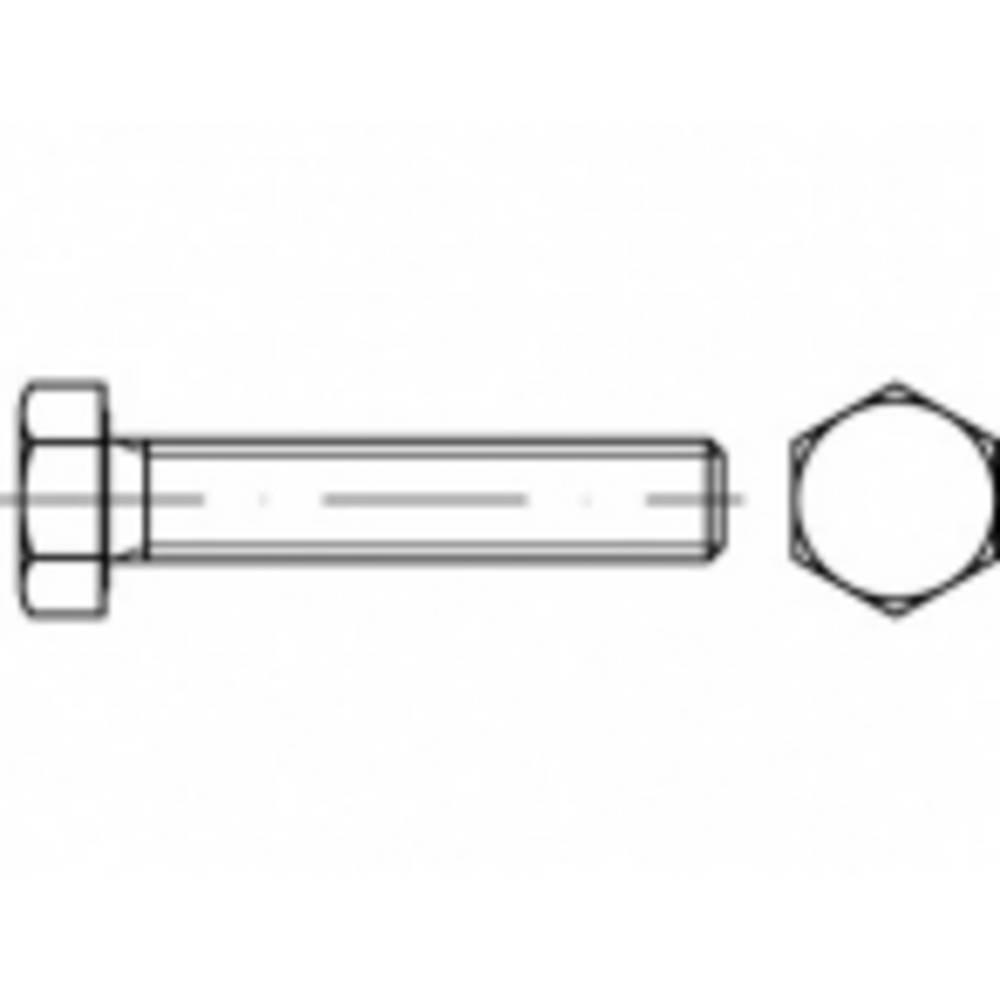 Vijci s šesterokutnom glavom M24 50 mm Vanjski šesterokutni ISO 4017 Čelik Galvansko pocinčani 25 ST TOOLCRAFT TO-5404851