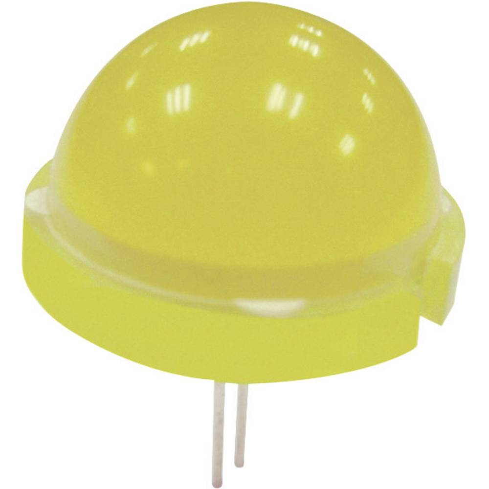 Ožičena LED dioda, rdeča, okrogla, 20 mm 380.25 mcd 120 ° 20 mA 5.55 V Kingbright DLC2-6SRD