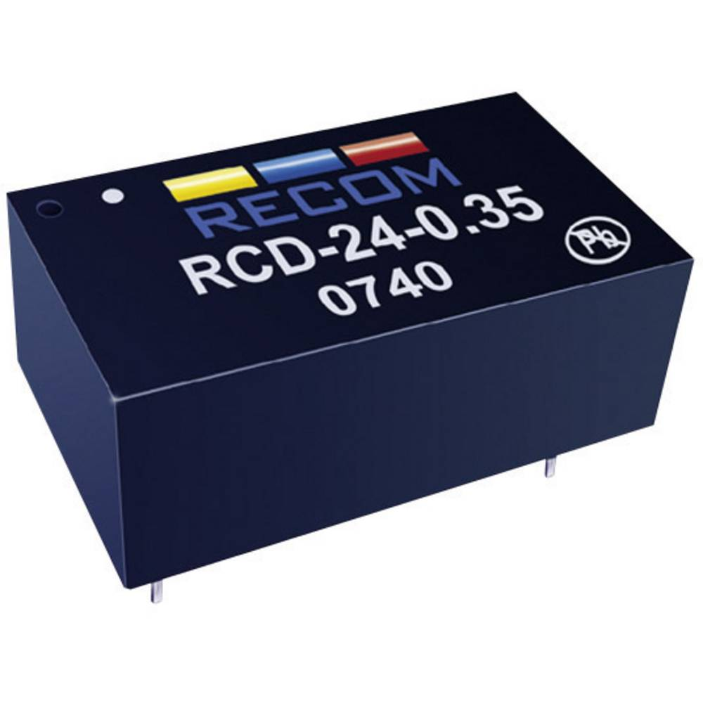 LED gonilnik 36 V/DC 500 mA Recom Lighting RCD-24-0.50