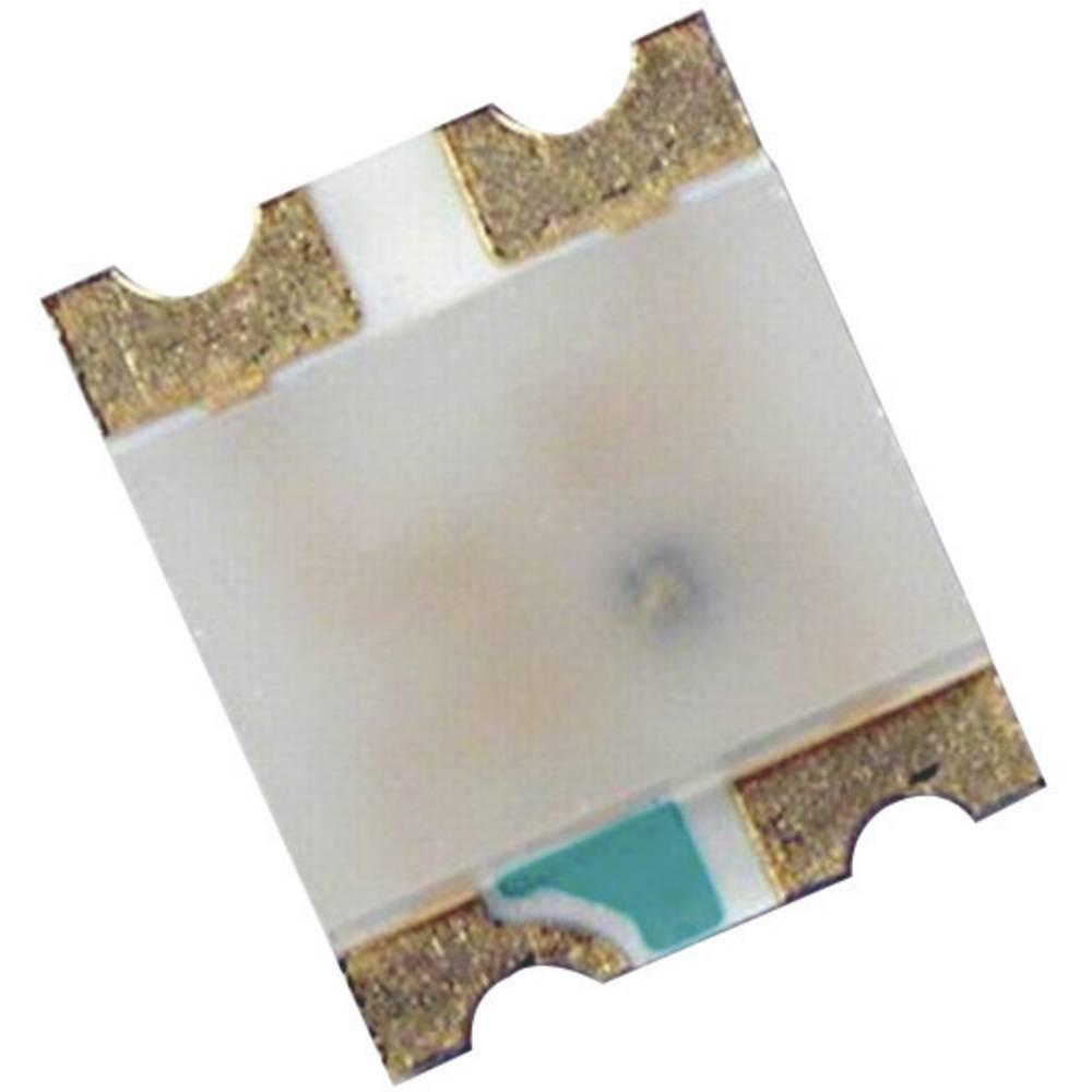 SMD-LED večbarvna, posebna oblika, rdeča, zelena, modra 90 mcd, 120 mcd, 40 mcd 130 ° 20 mA, 20 mA, 20 mA 1.9 V, 3.5 V, 3.5 V Br