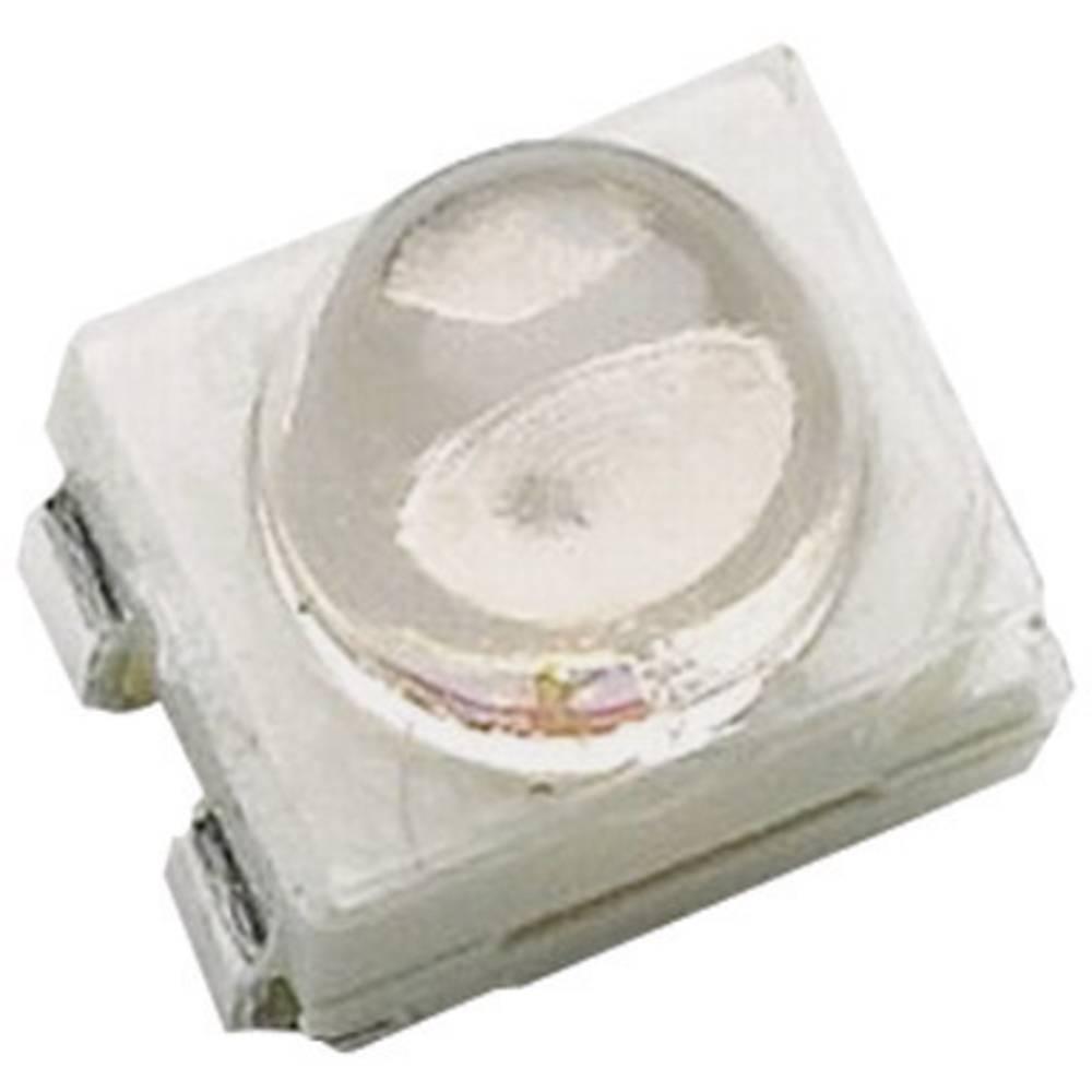 SMD-LED (value.1317393) Broadcom HSMV-A430-Y90M1 PLCC4 6000 mcd 30 ° Rød-orange
