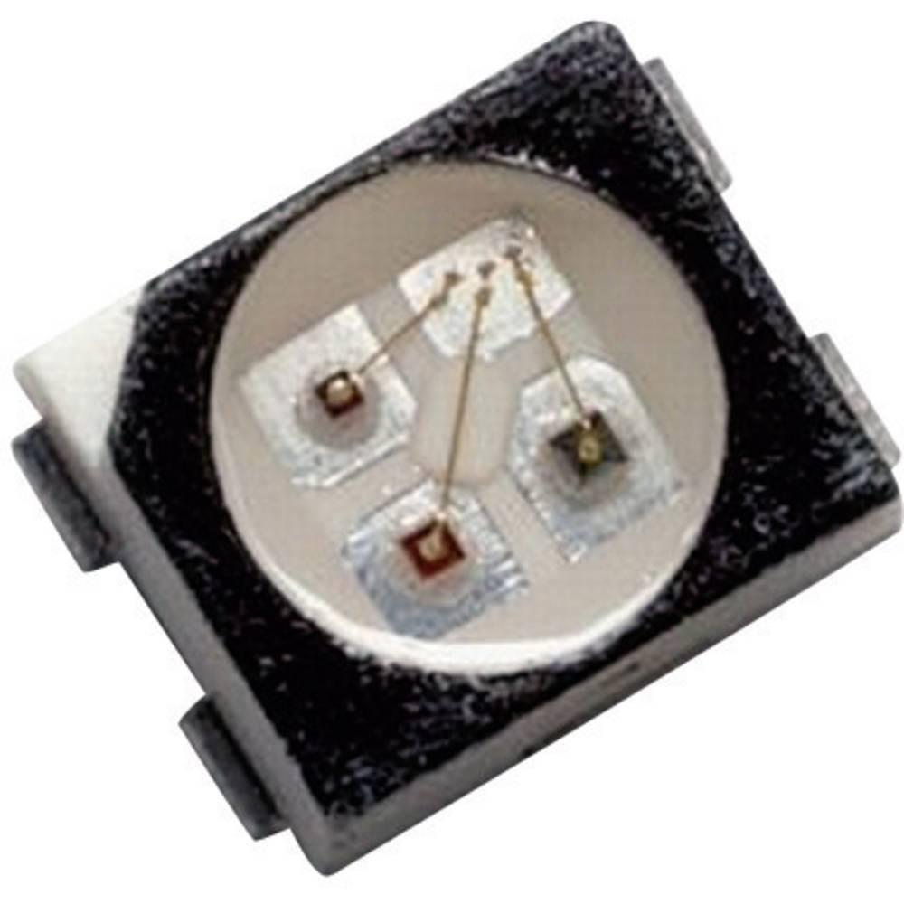 SMD LED flerfarvet Broadcom HSMF-A203-A00J1 PLCC4 16 mcd, 8 mcd 120 ° Rød, Smaragdgrøn