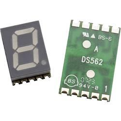 7-Segment-Anzeige (value.1317366) Broadcom 14.22 mm 2.1 V Orange