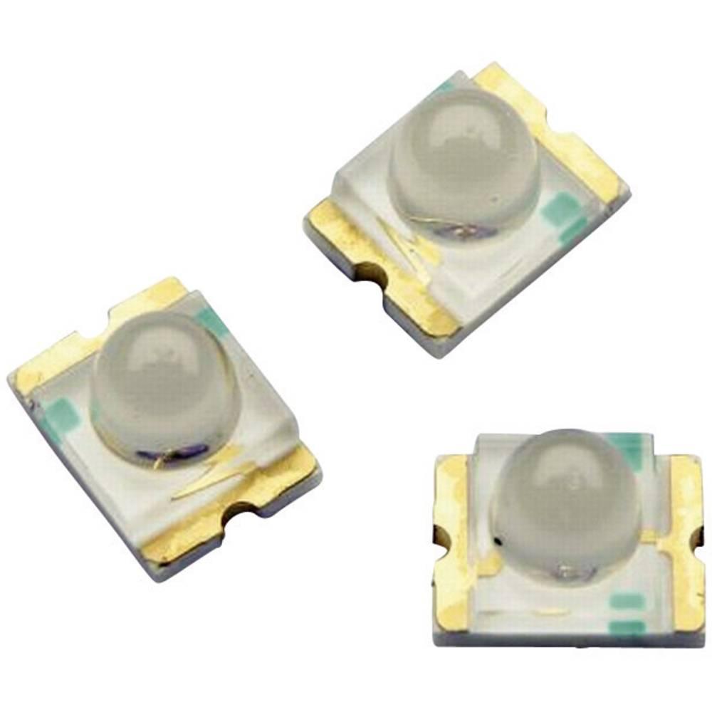 SMD-LED (value.1317393) Broadcom ASMT-BG20-AS000 særlig form 650 mcd 15 ° Grøn