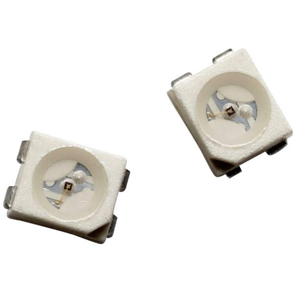 SMD-LED PLCC4 jantarjeva 400 mcd 120 ° 50 mA 2.2 V Broadcom HSMA-A401-U45M1