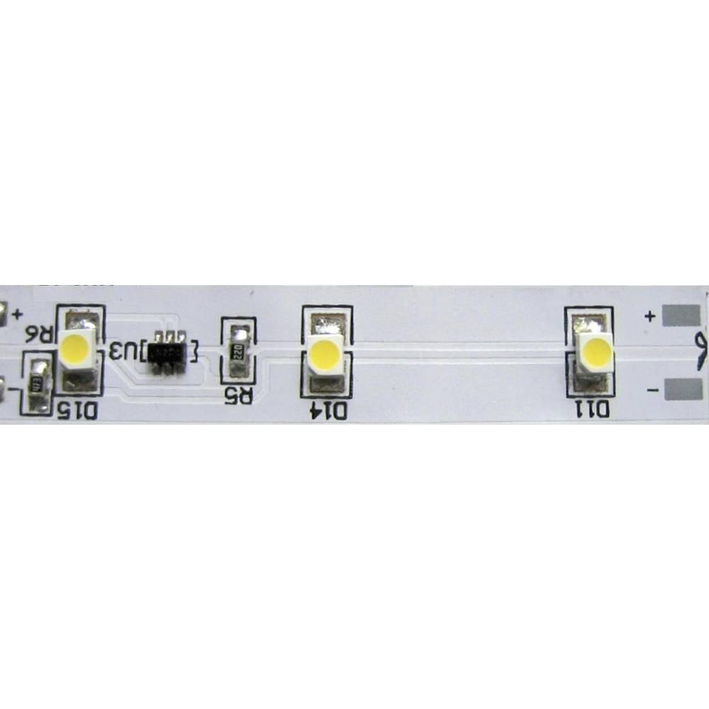LED trak, pregiben 12 V LEDxON 9009043 rumene barve 5 cm / 3 LEDs 12 V/DC