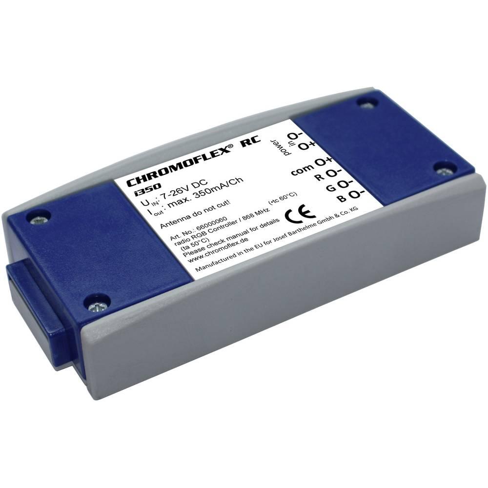 LED daljinski upravljač Barthelme CHROMFLEX III RC i350 868.3 MHz 20 m 116 mm 52 mm 22 mm