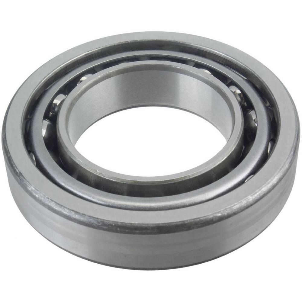 Dvoredni kuglični ležaj s kosim dodirom FAG 3211-BD-2Z-TVH promjer provrta 55 mm vanjski promjer 100 mm broj okretaja (maks.) 43