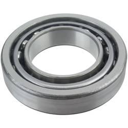 Dvoredni kuglični ležaj s kosim dodirom FAG 3215-B-TVH promjer provrta 75 mm vanjski promjer 130 mm broj okretaja (maks.) 4300 U