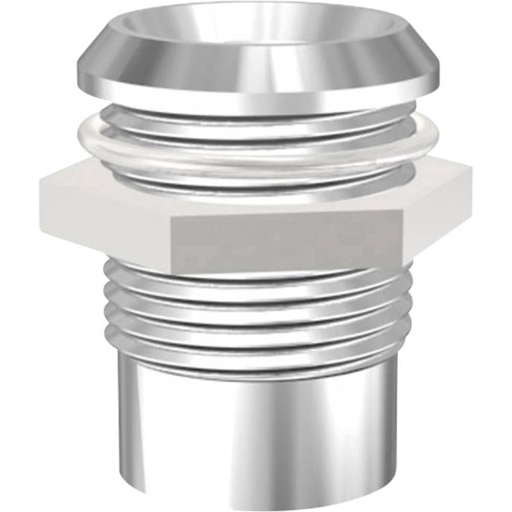 LED podnožje, metal, pogodno za LED 8 mm vijčana montaža Signal Construct SMB1129