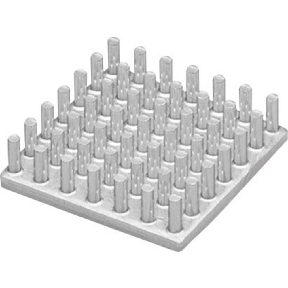 Hladilno telo 26.3 K/W (D x Š x V) 10 x 10 x 12.5 mm Fischer Elektronik ICK S 10 x 10 x 12,5
