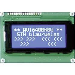 LCD zaslon, bijela, plava (Š x V x D) 87 x 60 x 13.6 mm Anag Vision AV1640BNBW-WJ