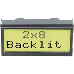 LCD zaslon, črna, rumeno-zelena (Š x V x G) 40 x 20 x 10.8 mm EADIPS082-HNLED
