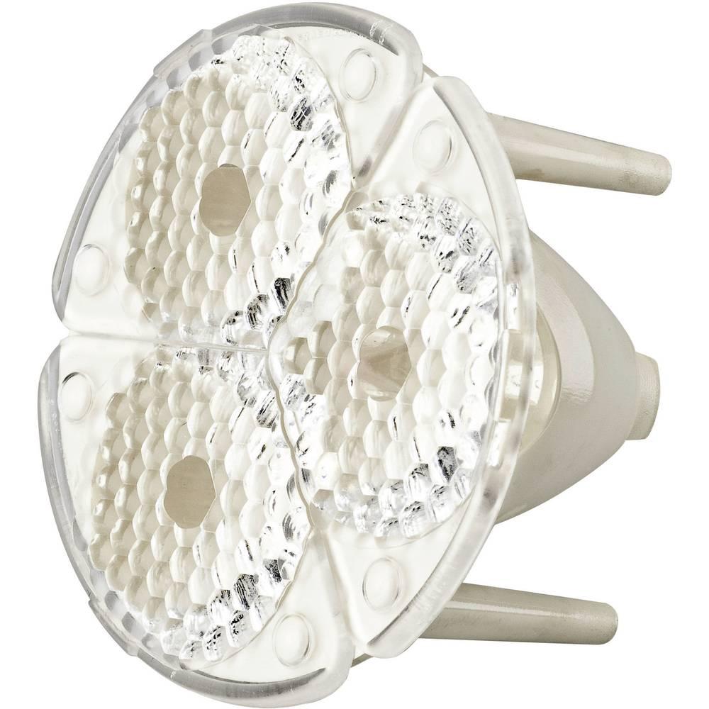 LED-optik Klar, Riflet Transparent, Hvid 25 ° Antal LED (max.): 3 Barthelme FS3-M1-SSP5II-H