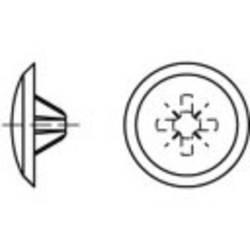 TOOLCRAFT Članak 88002 plastične KS-Z bijele ukrasne kape m. Phillips profil f. Senkschr. m. Pozidriv Kreuzschl. Dimenziju Z: 3