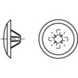 TOOLCRAFT Članak 88002 Plastika KS-Z svijetlo smeđa Dekorativne kape w. Phillips profil f. Senkschr. m. Pozidriv Kreuzschl. Dime