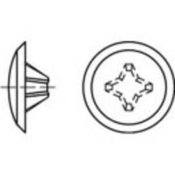 TOOLCRAFT Članak 88004Plastični KS-H tamnosmeđi Ornamentalni kape Dimenzije: 2 x 12 / 3,5-5 1000 St.