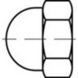 TOOLCRAFT Članak 88497 Plastična crna KORREX Zatvoreni poklopci s heksadecima Dimenzije: 604-M 4x 6.8 100 St.