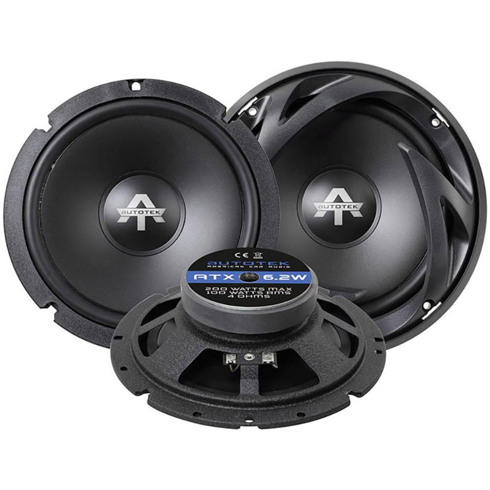 Autotek ATX 6.2W širokopasovni vgradni zvočniki 200 W Vsebina: 1 kos