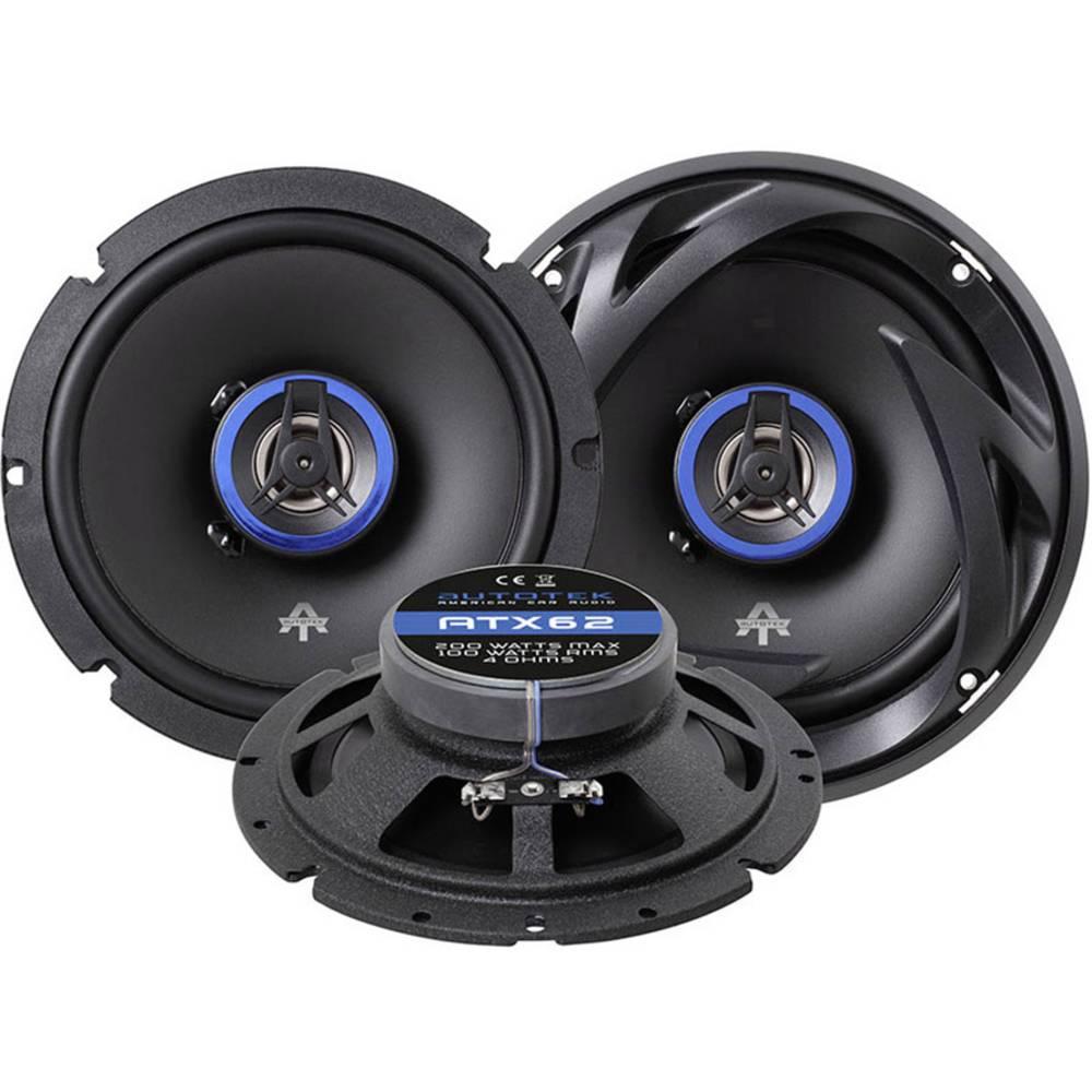 Autotek ATX 62 2-sistemski koaksialni zvočniki za vgradnjo 200 W Vsebina: 1 KOS