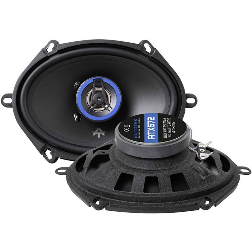 ATX 572 2-sistemski koaksialni zvočniki za vgradnjo 180 W Vsebina: 1 KOS