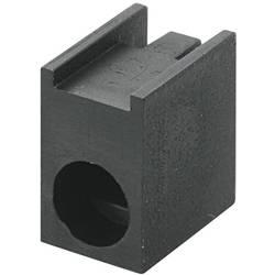 LED afstandsholder Enkel Sort Passer til LED 3 mm 1c. Brandname KSS PLD1-3A