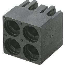 LED afstandsholder 4x Sort Passer til LED 3 mm 1c. Brandname KSS PLD4-3A
