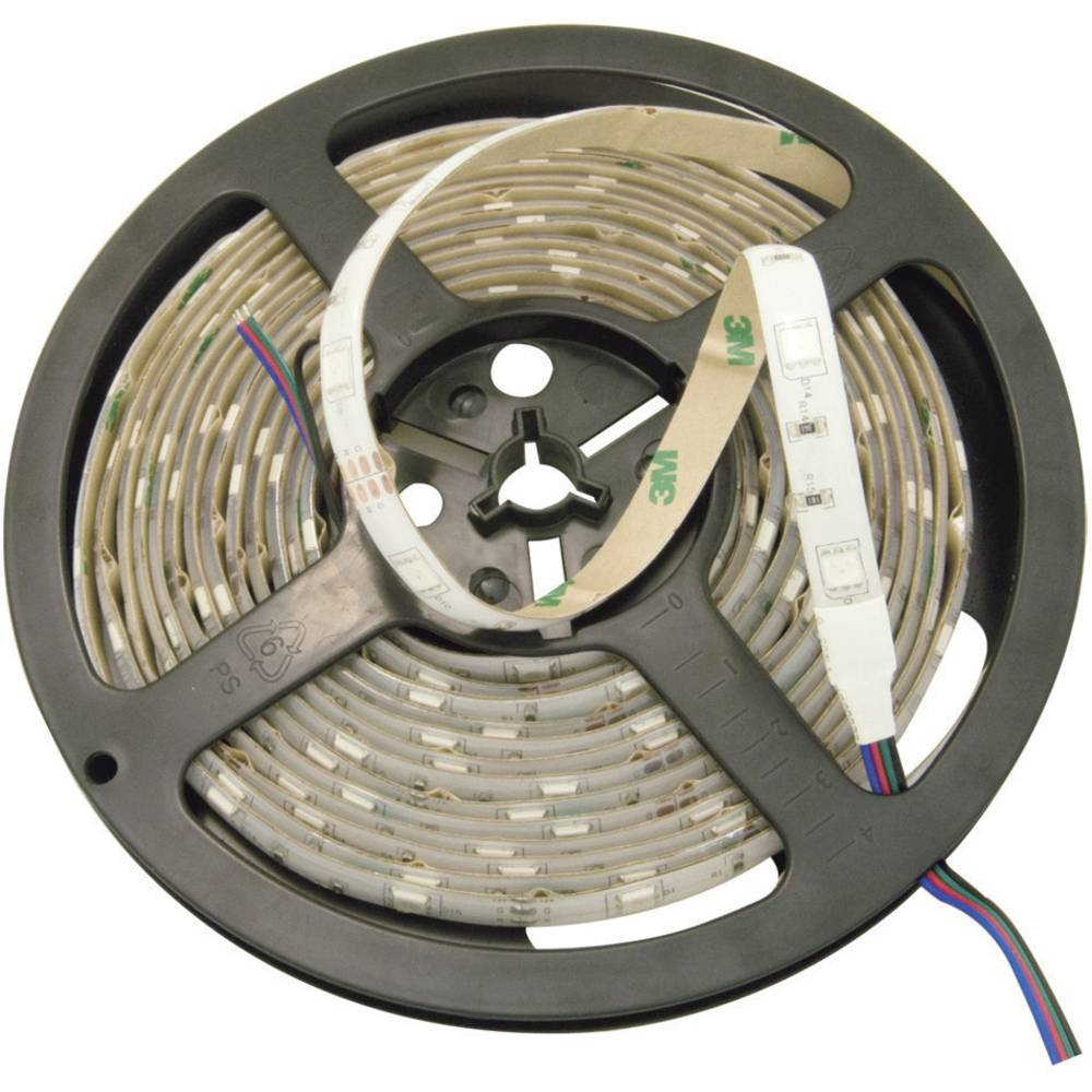 Standardni LED-trak, samolepilen, ulita izvedba, zelene barve, 5 m/300 LED, 24 V/DC 51516413