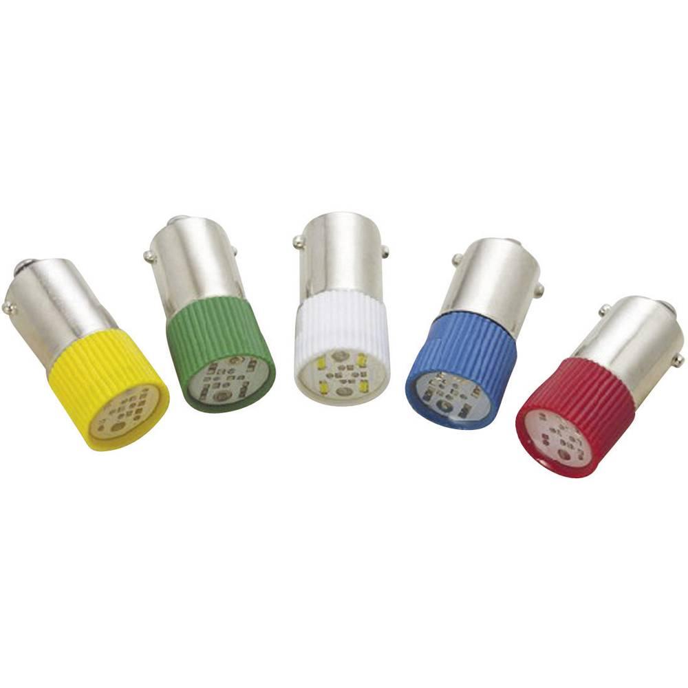 LED žarnica BA9s zelena 12 V/DC, 12 V/AC 3.6 lm Barthelme 70113230