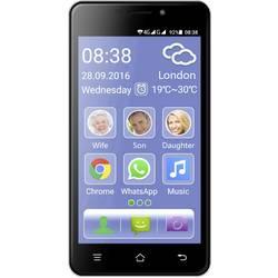 Switel eSmart M2 senior pametni telefon 8 GB 5 palec(12.7 cm) android™ 5.1 lollipop 8 Mio. pikslov črna