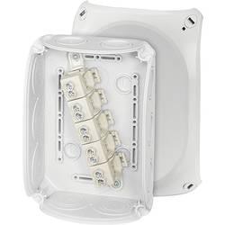 Hensel 62000010 odcepna omarica (D x Š x V) 77 x 180 x 130 mm sivo-bela (ral 7035) ip66 (tesnilo prednje plošče) 1 kos