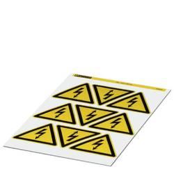 Opozorilna tabla Pozor Samolepilna folija 100 mm DIN 61010-1 5 KOS