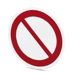 Znak prepovedi Samolepilna folija (Ø) 50 mm 50 mm DIN 61010-1 10 KOS