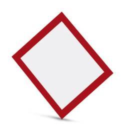 Oznaka nevarnosti Samolepilna folija (Š x V) 13 mm x 13 mm DIN 61010-1 500 KOS