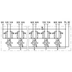 Sensorska/aktivatorska kutija aktivna M12 razdjelnik s plastičnim navojem SACB-4/ 8-L-PT SCO P 1412058 Phoenix Contact 1 ST