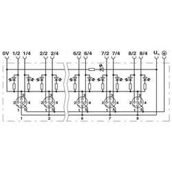 Sensorska/aktivatorska kutija aktivna M12 razdjelnik s plastičnim navojem SACB-6/12-L-PT SCO P 1412059 Phoenix Contact 1 ST