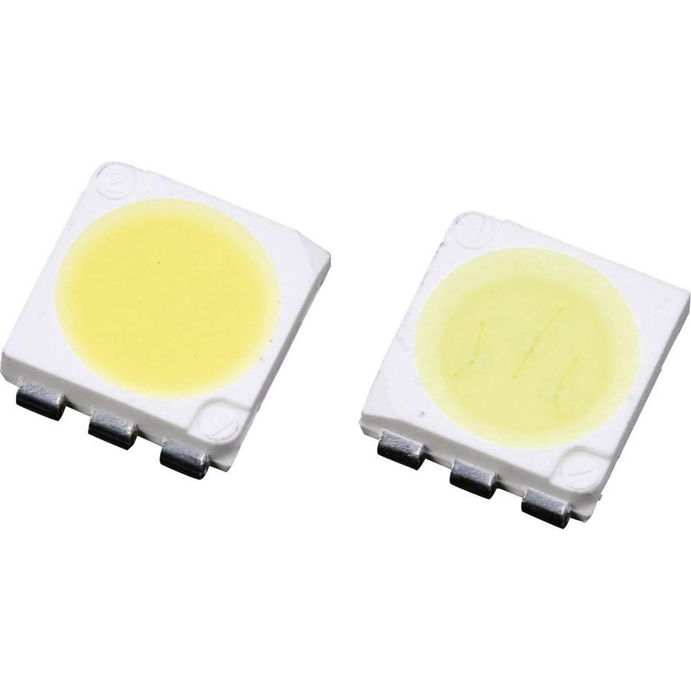 SMD LED Lumimicro LMTP553WWZ Si PLCC6 7500 mcd 120 ° Varm hvid