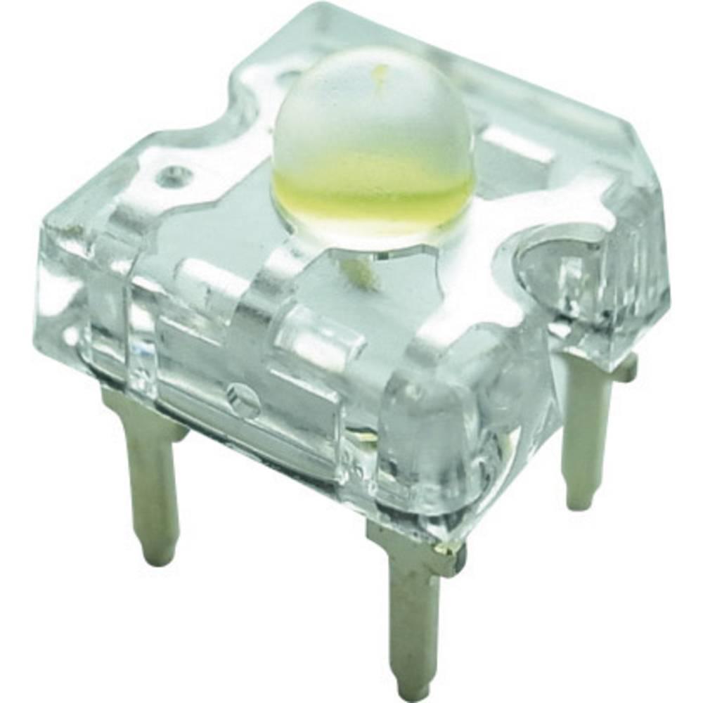 Ožičena LED dioda, bela, pravokotna 7.6 x 7.6 mm 50 ° 30 mA 3.2 V Yoldal YSF-W319EHY