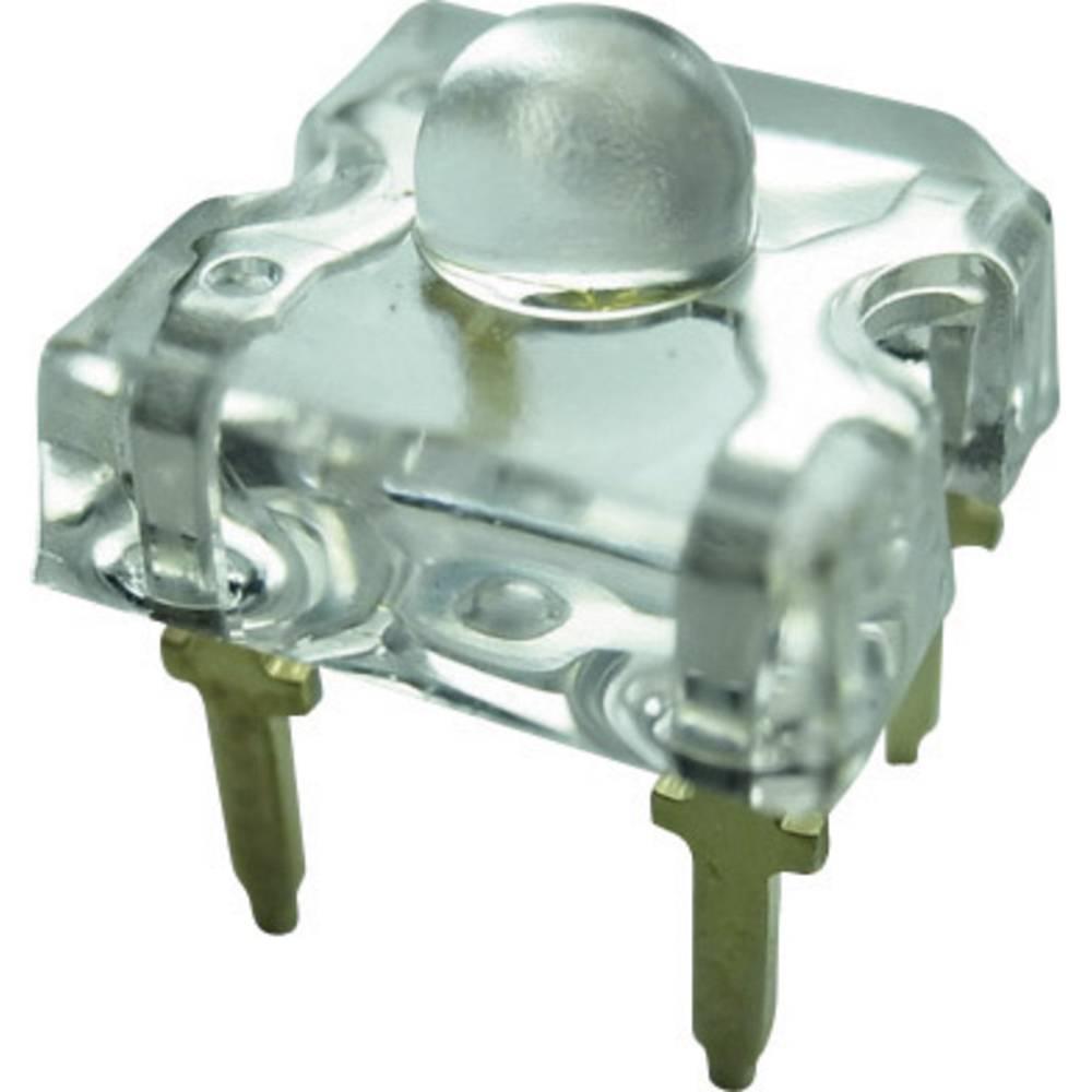 Ožičena LED dioda, rumena, pravokotna 7.6 x 7.6 mm 50 ° 50 mA 2.4 V Yoldal YSF-Y319EY