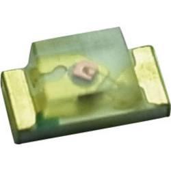 SMD LED Yoldal UBSM0603USR21 0603 100 mcd 120 ° Rød